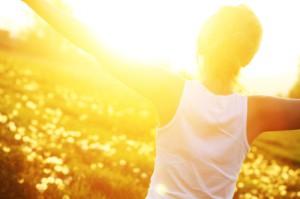 Huidveroudering door zon of zonnebank
